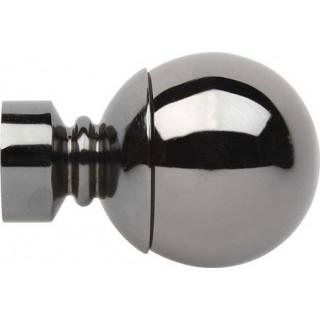 Rolls Neo 28mm Black Nickel Effect Ball Finials