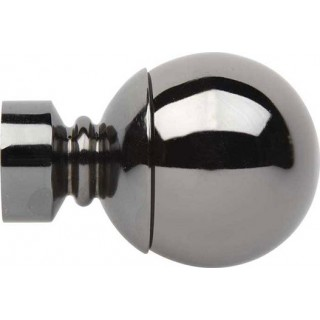 Rolls Neo 35mm Black Nickel Effect Ball Finials