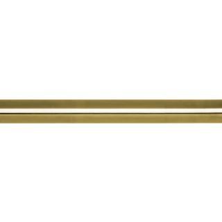 Rolls Neo 28mm Spun Brass Effect Metal Curtain Pole Only