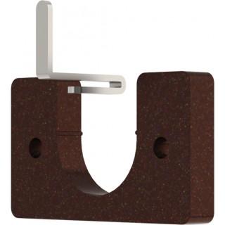 Hallis Hudson Arc 25mm Bronze Recess Bracket
