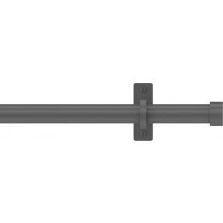 Hallis Hudson Arc 25mm Lead Stud Metal Eyelet Curtain Pole