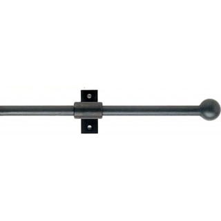 Artisan 12mm Classic Wrought Iron Metal Curtain Pole