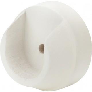 Rolls Honister 28mm Linen White Recess Brackets