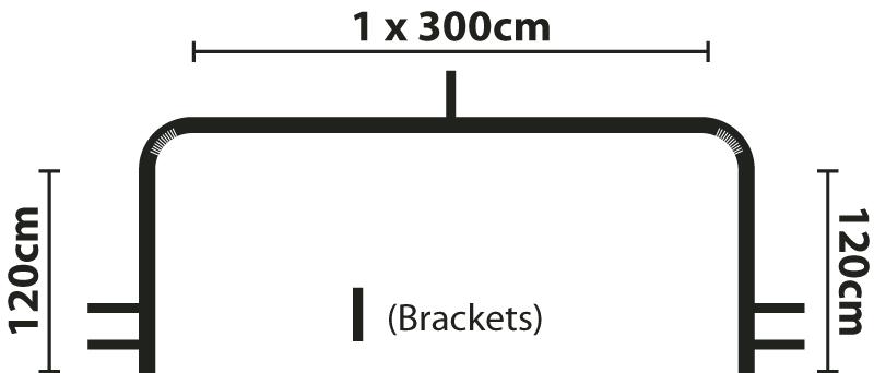 5.4m Neo Bay Pole Diagram