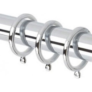 Rolls Neo 35mm Chrome Effect Rings - Pack of 6