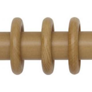 Rolls Woodline 35mm Light Oak Effect Rings