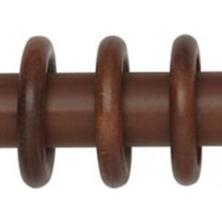 Rolls Woodline 35mm Rosewood Effect Rings