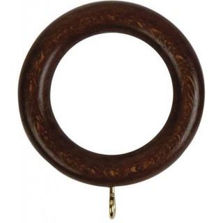 Rolls Woodline 35mm Dark Oak Effect Rings