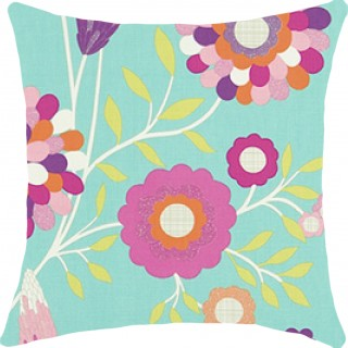 Funky Flowers Fabric 120220 by Harlequin