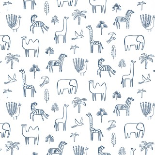Funky Jungle Wallpaper 112630 by Harlequin