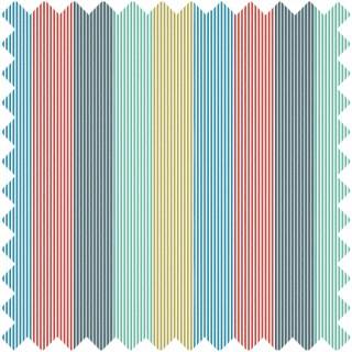 Funfair Stripe Fabric 133551 by Harlequin