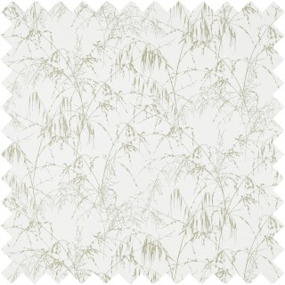 Meadow Grass Voile Fabric 120552 by Harlequin