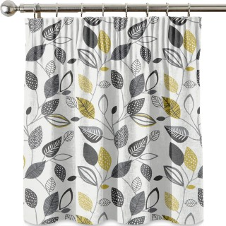 Forest Leaves Fabric CRAU/FORESNOI by iLiv