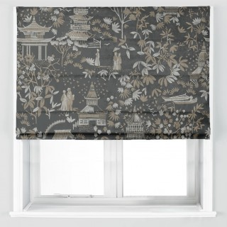 Chinoiserie Fabric EAGX/CHINOJET by iLiv