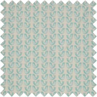 Scandi Birds Fabric CRAU/SCBIRAQU by iLiv