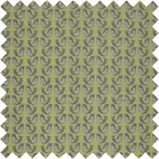 Scandi Birds Fabric CRAU/SCBIRKIW by iLiv