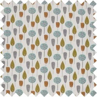 Scandi Trees Fabric CRAU/SCTRETAN by iLiv