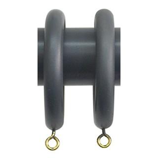 Jones Shore Ball 35mm Charcoal Rings (Pack of 6)