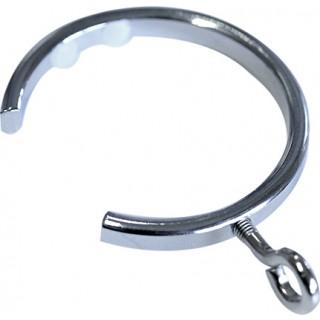 Jones Strand 35mm Chrome Effect Passing Rings (Pack of 6)