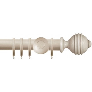 Jones Cathedral Ely 30mm Putty Effect Wood Curtain Pole