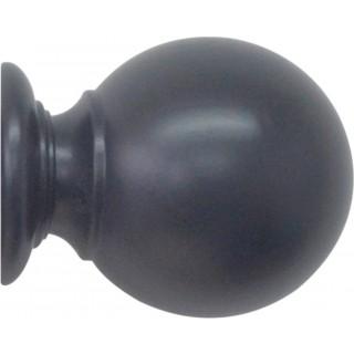Jones Estate 50mm Basalt Effect Ball Finial (Single)