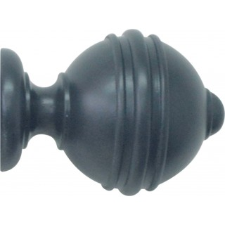 Jones Estate 50mm Airforce Effect Ribbed Ball Finial (Single)