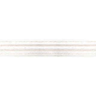 Jones Florentine 50mm Cotton Effect Fluted Wood Curtain Pole Only