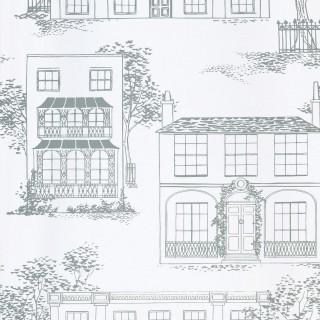 Hampstead Wallpaper 0288HAGLASS by Little Greene