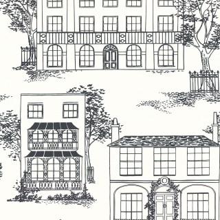 Hampstead Wallpaper 0271HAINKZZ by Little Greene