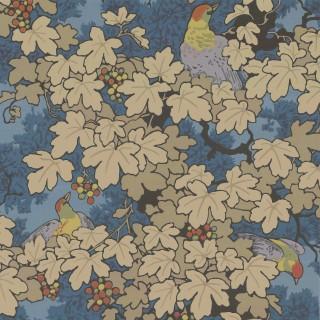 Vine Wallpaper 0247VIBLEUZ by Little Greene