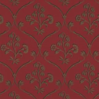 Cranford Wallpaper 0277CFCHERR by Little Greene