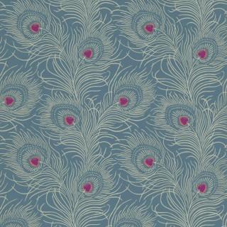 Carlton House Terrace Wallpaper 0256CTBLUEP by Little Greene