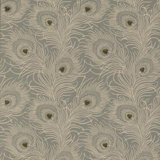 Carlton House Terrace Wallpaper 0256CTSLATE by Little Greene