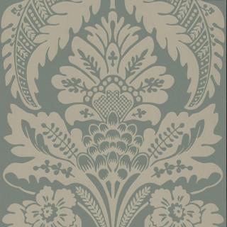 Wilton Wallpaper 0256WLMARLE by Little Greene