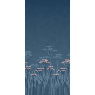 Achillea Panel Wallpaper 0245ACNIGHT by Little Greene