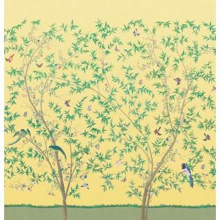 Belton Scenic Panel Wallpaper 0245BSSUNBE by Little Greene