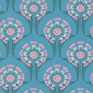 Hencroft Wallpaper 0245HEAZURE by Little Greene
