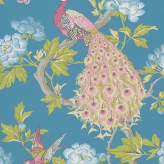 Pavona Wallpaper 0245PASYLVI by Little Greene