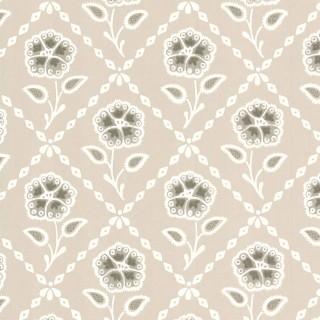 Whitehall Wallpaper 0284WHPEBBL by Little Greene