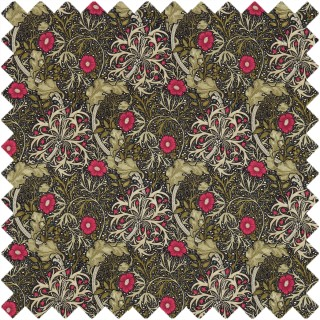 Morris Seaweed Fabric 224471 by William Morris & Co