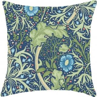 Morris Seaweed Fabric 224472 by William Morris & Co