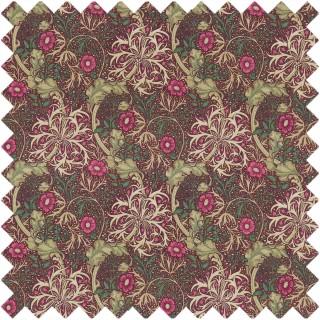 Morris Seaweed Fabric 224473 by William Morris & Co