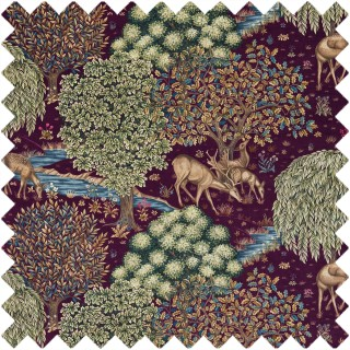 The Brook Tapestry Fabric 224498 by William Morris & Co