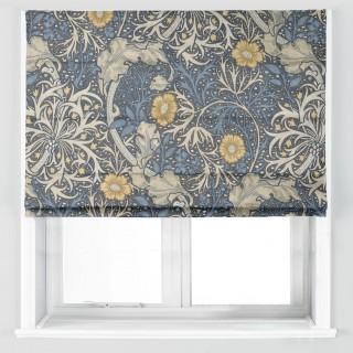 Morris Seaweed Fabric 226727 by William Morris & Co