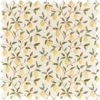 Lemon Tree Embroidery Fabric 236823 by William Morris & Co