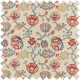 Theodosia Embroidery Fabric 236822 by William Morris & Co