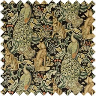 Forest Velvet Fabric 222535 by William Morris & Co