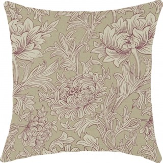 Chrysanthemum Toile Fabric DMCOCH202 by William Morris & Co