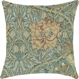 Honeysuckle and Tulip Fabric DMORHO202 by William Morris & Co
