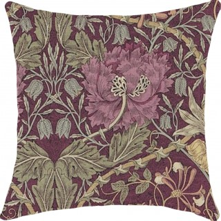 Honeysuckle and Tulip Fabric DMORHO204 by William Morris & Co